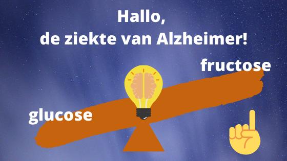 fructose glucose Alzheimer