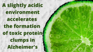 acidity and Alzheimer's